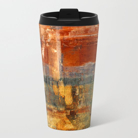 "Quarup ""Kaurup"" Metal Travel Mug"