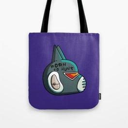 Avocato Born To Hunt Tote Bag