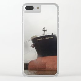 """Strange Attractor"" Clear iPhone Case"