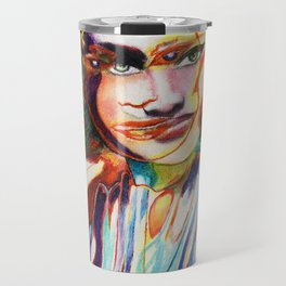 Lauren Bacall portrait Travel Mug