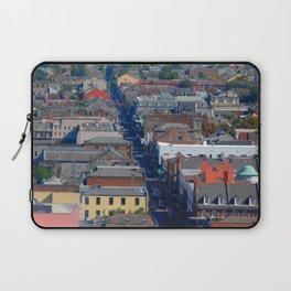 Vieux Carre Cityscape Laptop Sleeve