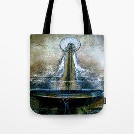 Fountain Bleu Tote Bag