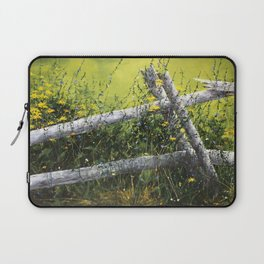 Along the Fence Laptop Sleeve