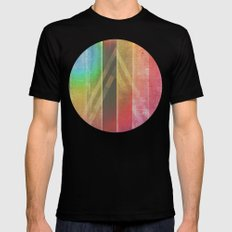 Away Searching For Oceans MEDIUM Black Mens Fitted Tee