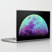 the moon Laptop & iPad Skins featuring Moon by Starstuff