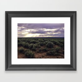 Taos Magic Framed Art Print
