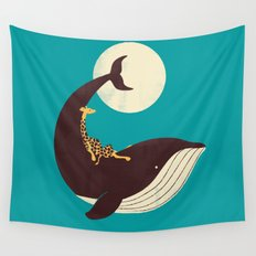 The Giraffe & the Whale Wall Tapestry