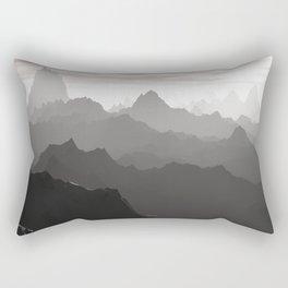 Shades of Gray Rectangular Pillow