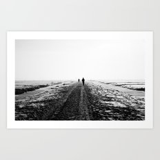 The Runner Art Print