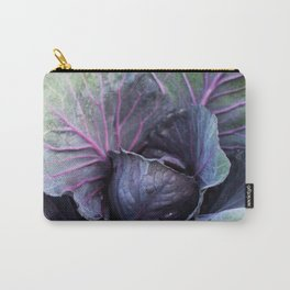 Purple Cabbage Photography Print Carry-All Pouch