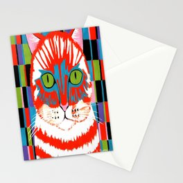 Bad Cattitude - Cats Stationery Cards