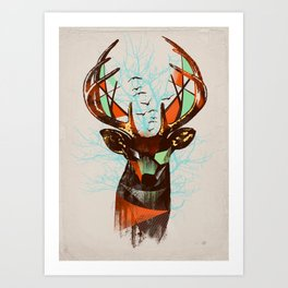 Trapped Art Print