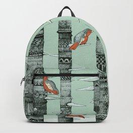 January Birds Backpack