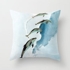 ACCLIMATIZE Throw Pillow