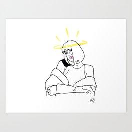 Nicka Art Print