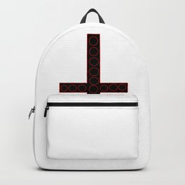 Black Inverted Cross Backpack
