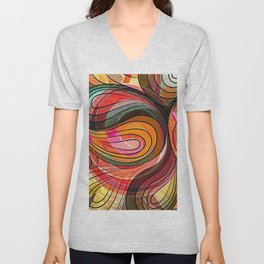 So Nothing Is Created Perfect Unisex V-Neck