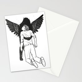 Save me. Stationery Cards