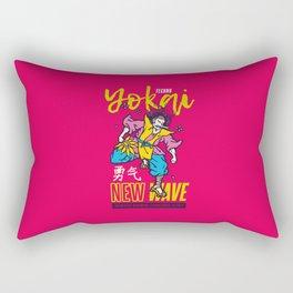 Techno Yokai Rectangular Pillow