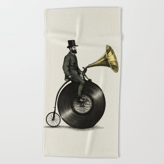 Music Man Beach Towel