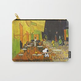 Snoopy meets Van Gogh Carry-All Pouch