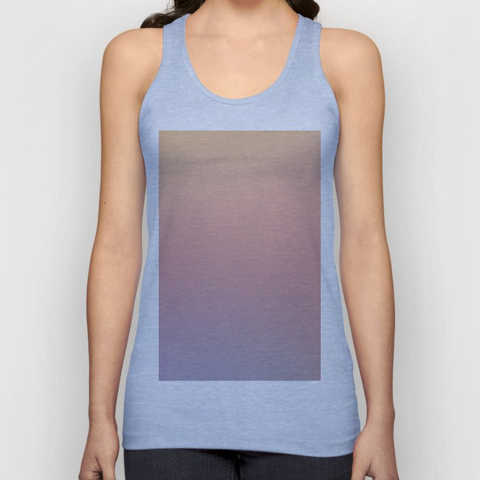 AFTER THOUGHTS - Minimal Plain Soft Mood Color Blend Prints Unisex Tank Top