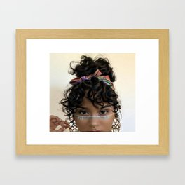 Kehlani 4 Framed Art Print