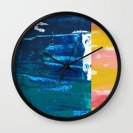 Desert Abstraction Wall Clock