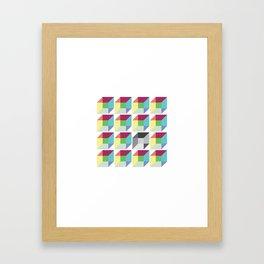 Different Framed Art Print