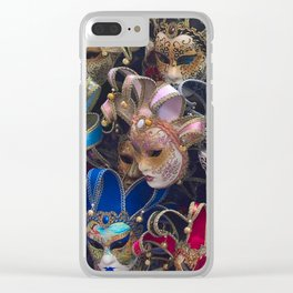 Masquerade Clear iPhone Case