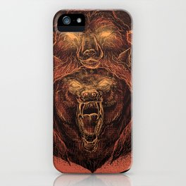 Wolf in a Sheep's Clothing (color revision) iPhone Case