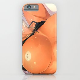Super Fit Hentai Girl With Big Tits Ultra HD iPhone Case