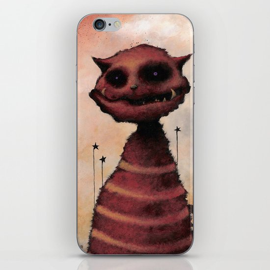 El Gato Rojo iPhone & iPod Skin