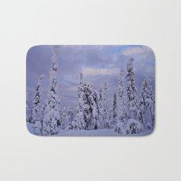 The Winter Wonderland Bath Mat
