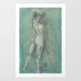 Figure I Art Print