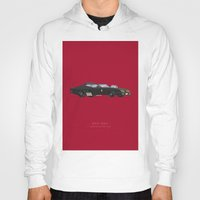 mad max Hoodies featuring Mad Max | Famous Cars by Fred Birchal