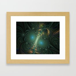 Fractal Inseparable, Abstract Fantasy Framed Art Print