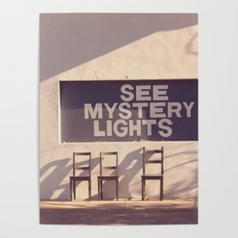 See Mystery Lights - Marfa, Texas Poster