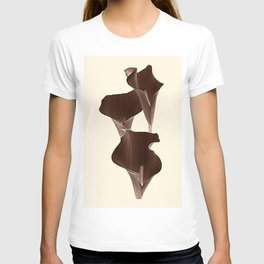 Brown Calla Lilly. T-shirt
