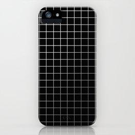 Metal Cage - Industrial, metallic grid pattern iPhone Case