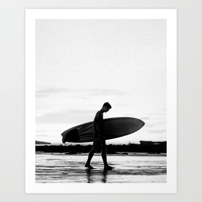 Surf Boy Kunstdrucke