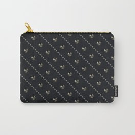 """Illustration . """"Scattering of black Diamonds."""" Carry-All Pouch"""