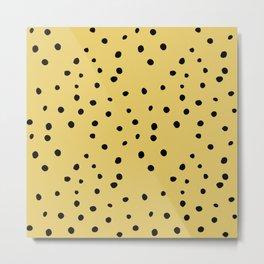 Leopard Print Metal Print