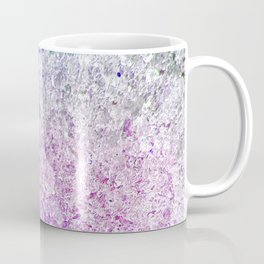 Frozen, close up photograph of snow and ice Coffee Mug