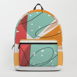 Give Thanks,Thanksgiving Greeting Card Backpack