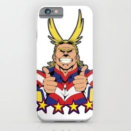 All Might is here! iPhone Case