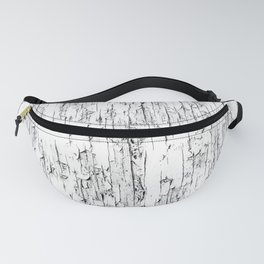 Wood texture old and cracked and peeling paint - BBG230 Fanny Pack