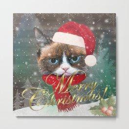 ~ Meowy Christmas ~ Metal Print
