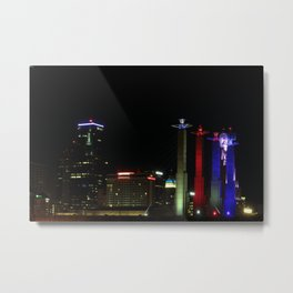 KC Night Colors Metal Print