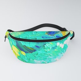 Turquoise Clouds Fanny Pack